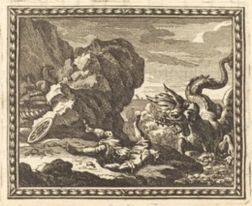 Hippolytus and the Sea Monster