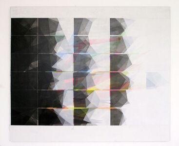 o.T (170.200.4.17), acrylic & pencil on canvas, 170 x 200 cm