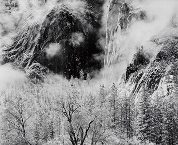 Two Steam Clouds, Yosemite National Park, CA