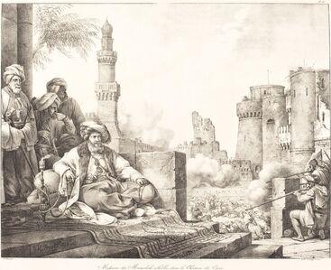 Massacre des Mameluks Rebelles dans le Château de Caire