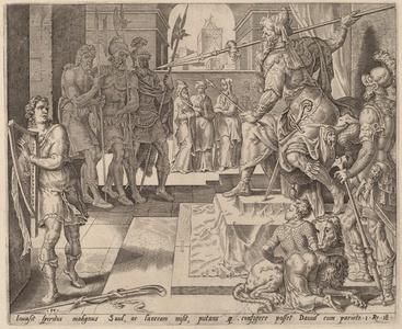 David before Saul