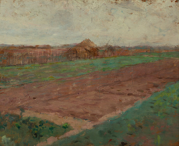 Planting Fields (on verso: Riverbed)