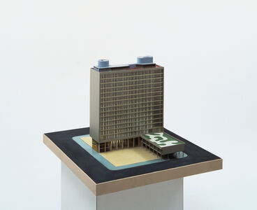 Maquette for the Ministry of Education and Health, Rio de Janeiro