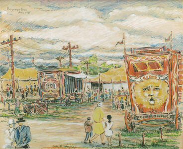 The Circus, August, 1925
