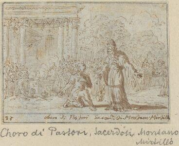 Chorus of Shepherds and Priests: Montano, Mirtillo