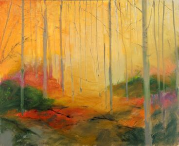 Wet Autumn Wood