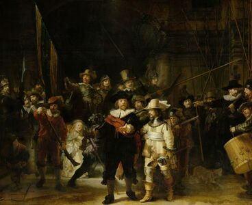 The Company of Frans Banning Cocq and Willem van Ruytenburch (The Night Watch)