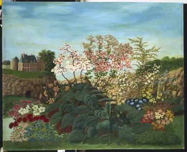 Flowers in a Landscape