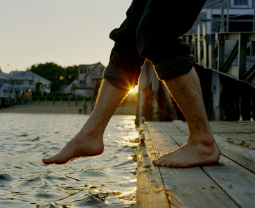 Captain Jack's Wharf, 8:25 a.m.