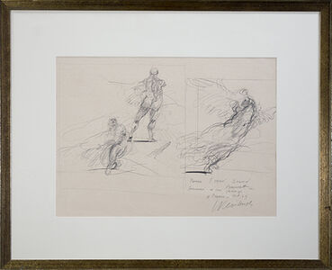 Three Studies (Seated Figure, Venus de Milo, Winged Victory of Samothrace)