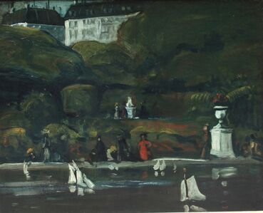 """""""Sailboats, Luxembourg Gardens"""""""