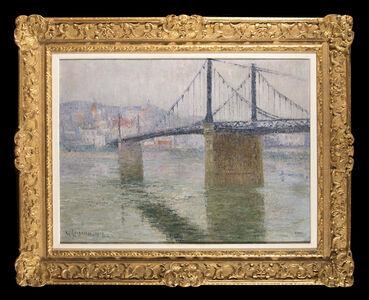 Le Pont suspend de Triel sur Seine