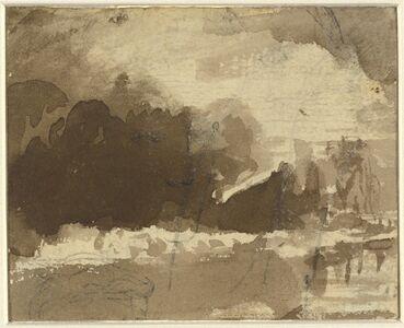 Landscape Composition [recto]