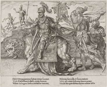 The Triumph of David