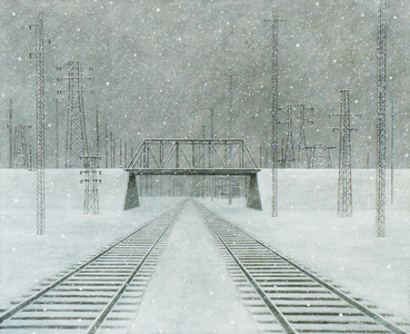 Track on a Winter Day