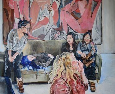 Demoiselles (study)