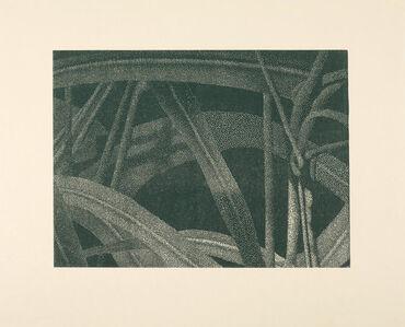 Gräser I (Detail 5), Grün