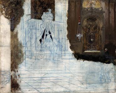 Altar in a Baroque Church