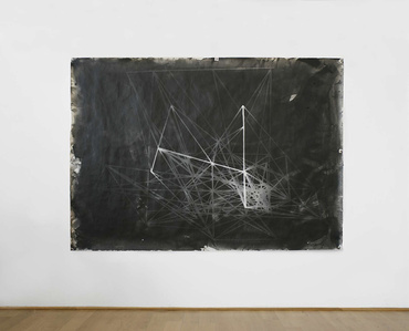 Photogram of the 'Hommage à Pascal' (1981) Larch Stick Construct I