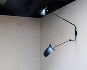 Wall-lamp with two arms