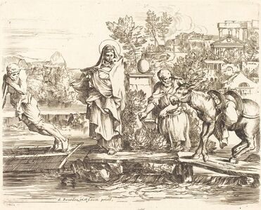 The Holy Family Preparing to Embark