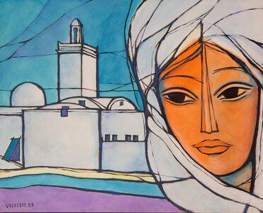 Mujer Con Iglesia