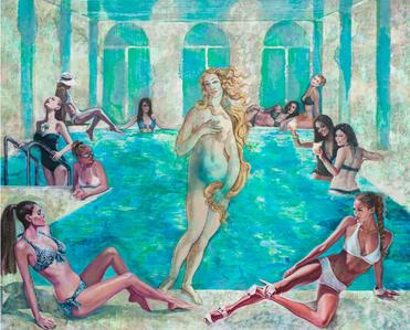Dress Code. Swimming Pool.