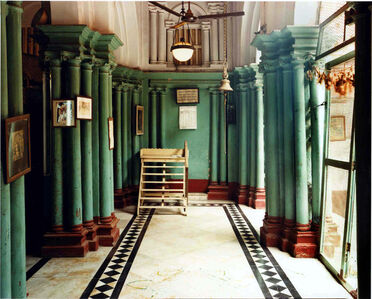 Men's Drawing Room, Roy House, North Calcutta, India