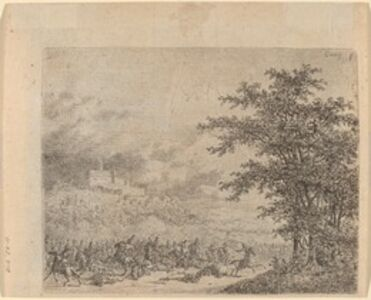 The Affair near Konigstein (L'Affaire pres d e Koenigstein) [verso]