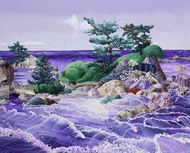 Cobalt violet sea
