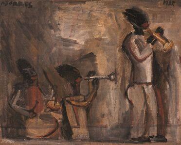 Tres músicos de jazz