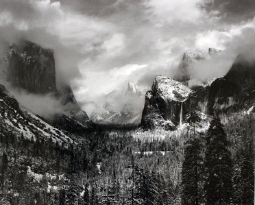 Clearing Winter Storm, Yosemite National Park, CA