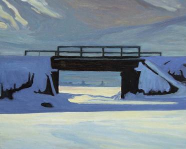 Blue Railway Bridge