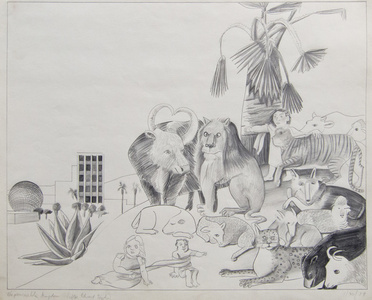 The Peaceable Kingdom (after Edward Hicks), 1/30/79