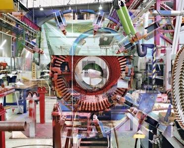 Photo n° 5 Halle Alternateurs, from the series Melting Power (Usine Alstom - Belfort)