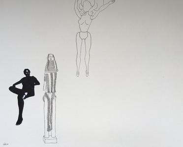 Untitled with Turkana Figure