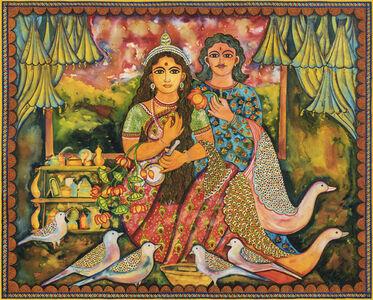 Draupadi and Nakul