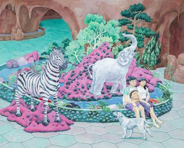 One who likes Zebra statues