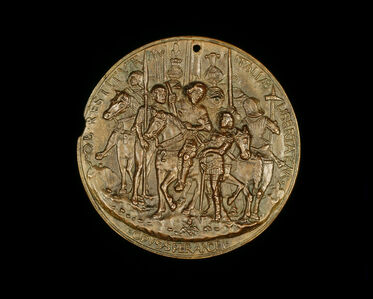 Francesco II Gonzaga and Soldiers [reverse]
