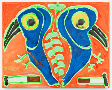 Blue Lovebirds