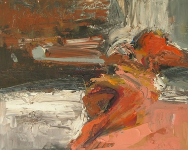 Reclining Figure Abstract