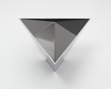 Model for Polished Tetrahedron for Sometimes Containing Water, Sometimes Containing Rain