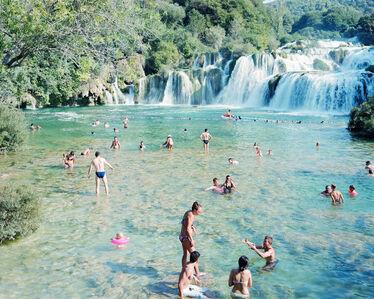 #3946 Krka Waterfall Pink