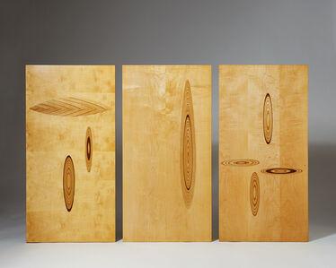 Set of wall panels