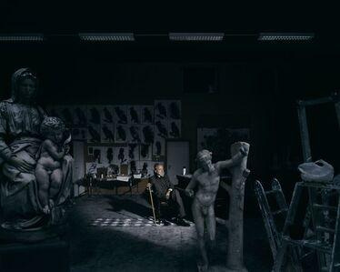 Portrait de l'artiste dans son atelier, (Portrait Of The Artist In His Studio)