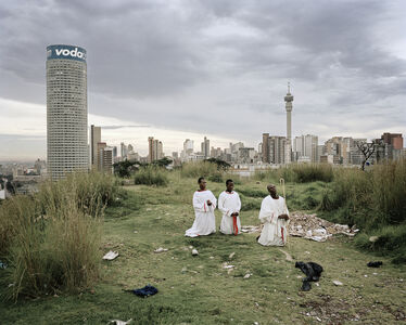 Cleaning the Core, Ponte City, Johannesburg