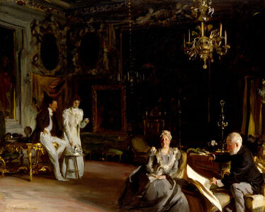 An Interior in Venice