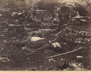A Sharpshooter's Last Sleep, Gettysburg, Pennsylvania, July 1863