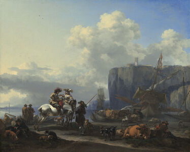 View of an Italian Port