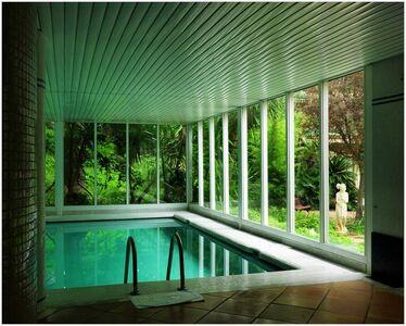 Swimming Pool in the Hotel Gran Melia Victoria, Palma de Mallorca